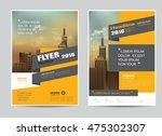 corporate brochure flyer design ... | Shutterstock .eps vector #475302307