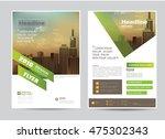 corporate brochure flyer design ...   Shutterstock .eps vector #475302343