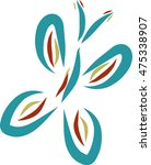 butterfly design | Shutterstock .eps vector #475338907
