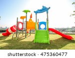colorful of a funny kid... | Shutterstock . vector #475360477