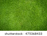 green lawn for background | Shutterstock . vector #475368433