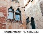 exterior house detail of run... | Shutterstock . vector #475387333