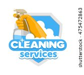 cleaning services logo   emblem ...