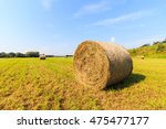 Hay Bails On Field In Germany...