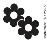 flower icon vector | Shutterstock .eps vector #475499077