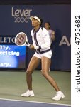 Venus Williams Warms Up For A Match, Acura Classic, August 2, 2007 - stock photo