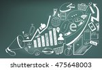 business media advertising or... | Shutterstock .eps vector #475648003