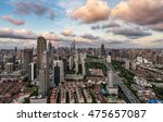 sunset beautiful city of... | Shutterstock . vector #475657087