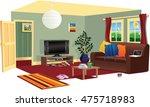 typical living room scene.