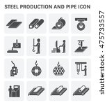 steel production and pipe...