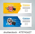 cinema movie banner poster... | Shutterstock .eps vector #475741627