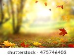 beautiful  landscape with... | Shutterstock . vector #475746403