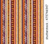 illustration orange  white and ... | Shutterstock . vector #475746547