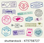 Romantic Postage Stamp For...