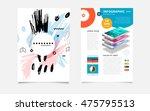 hand drawn universal art.... | Shutterstock .eps vector #475795513