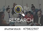 research results knowledge... | Shutterstock . vector #475822507