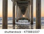symmetrical shot under scripps... | Shutterstock . vector #475881037