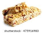 one and half muesli bars... | Shutterstock . vector #475916983