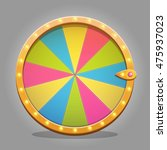 shiny fortune wheel design...