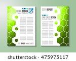 brochure template  flyer design ... | Shutterstock . vector #475975117
