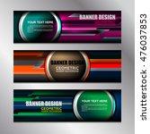 business banners template... | Shutterstock .eps vector #476037853