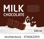 packaging the banner of dairy... | Shutterstock .eps vector #476062393