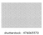 jigsaw puzzle template 1000... | Shutterstock .eps vector #476065573