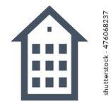multistory building.... | Shutterstock .eps vector #476068237
