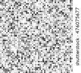 vector halftone texture made of ... | Shutterstock .eps vector #476075677