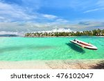 the paradise island in trang... | Shutterstock . vector #476102047