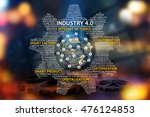 industrial 4.0 cyber physical... | Shutterstock . vector #476124853