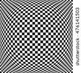 Check Pattern Fisheye Effect...