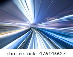 rail track and cityscape of... | Shutterstock . vector #476146627