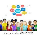 different language speech... | Shutterstock . vector #476152693