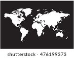earth map | Shutterstock .eps vector #476199373