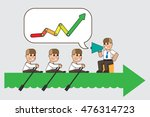 the team. business concept... | Shutterstock .eps vector #476314723