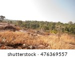 way and rock in tropical forest ... | Shutterstock . vector #476369557