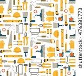 seamless pattern construction... | Shutterstock .eps vector #476381773