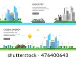 a set of two illustrations  ... | Shutterstock .eps vector #476400643