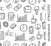 seamless pattern of business... | Shutterstock .eps vector #476412553