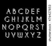 vector alphabet | Shutterstock .eps vector #476427853