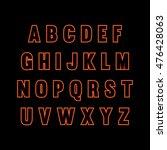 vector alphabet | Shutterstock .eps vector #476428063