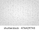 abstract digital background.... | Shutterstock .eps vector #476429743