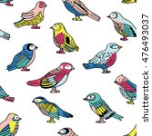 vector seamless pattern with... | Shutterstock .eps vector #476493037