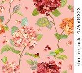 vintage flowers   floral... | Shutterstock .eps vector #476504323