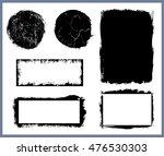 grunge design elements vector... | Shutterstock .eps vector #476530303