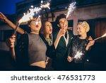 group of friends enjoying out...   Shutterstock . vector #476531773