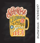 illustration of oktoberfest... | Shutterstock . vector #476540197
