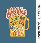lettering typography ... | Shutterstock . vector #476540203