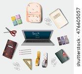 back to school | Shutterstock . vector #476605057